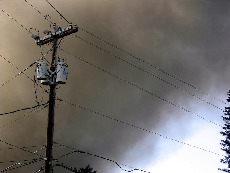 Smoke Filled Sky #2