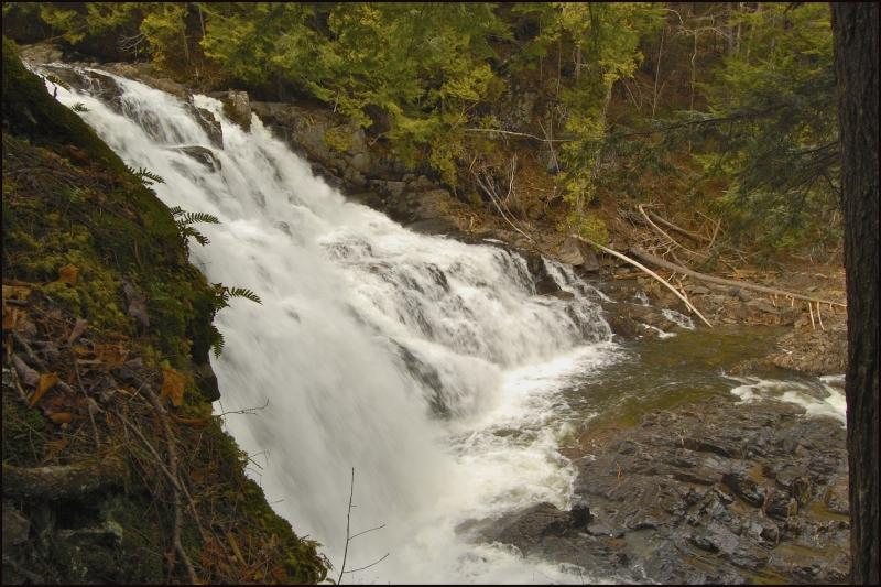 More Waterfalls At Moxie Falls, Maine