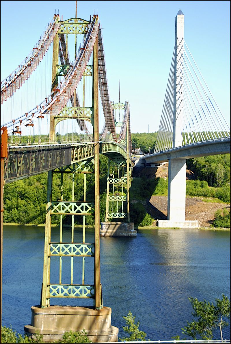 Penobscot Narrows Bridge and Observatory Maine