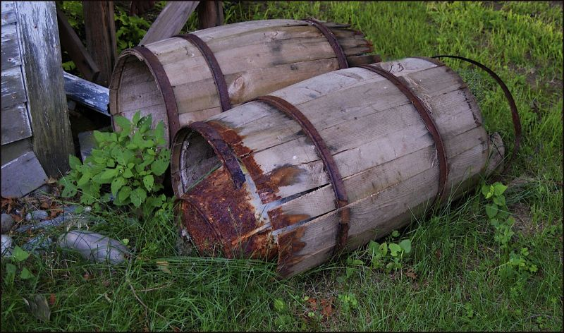 Old Barrels from Maine