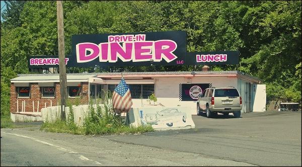 Pink Diner in Saugus, Massachusetts