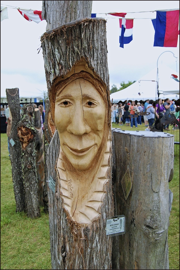 Common Ground Fair - Wood Sculptures