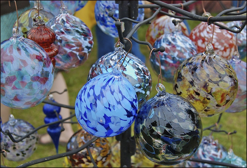 Common Ground Fair - Glass Globes
