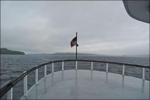 Katahdin Boat Cruise - Stern (Upper Level)