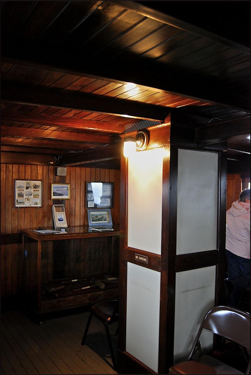 Katahdin Boat Cruise - Inside the Katahdin