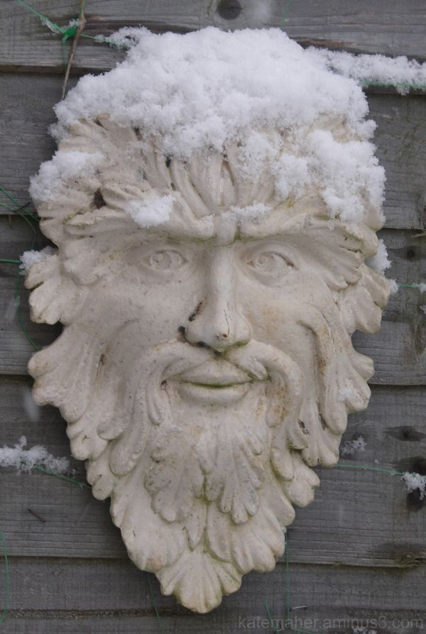 first snow greenman