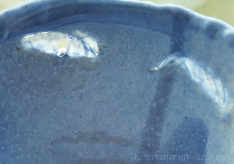 Outside porcelain bowl