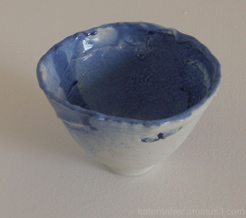 my small blue bowl