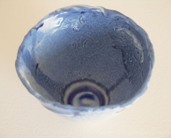 more of my small blue bowl