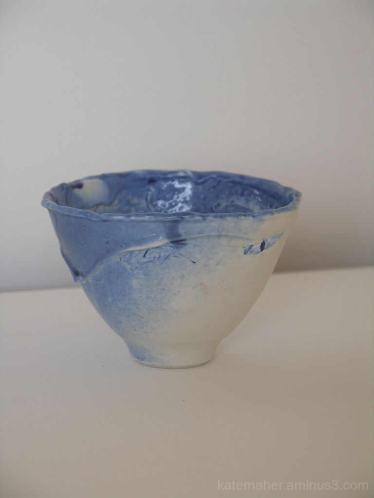 Again more of my small blue bowl
