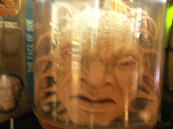 the face of Boe,Dr Who.