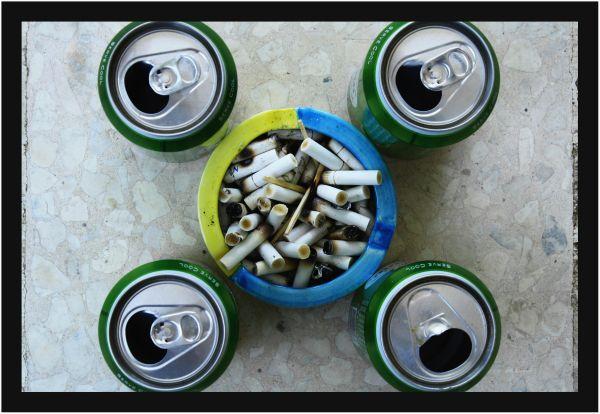Cigarette Beer fun peace bob dylan edith piaf