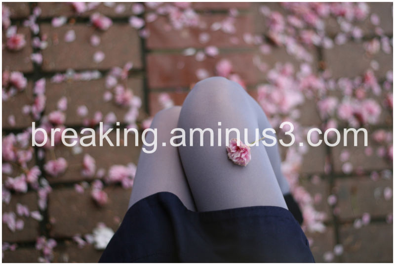 Blossoms feet