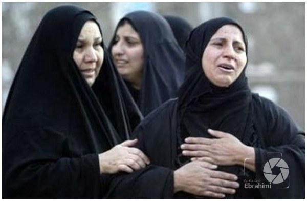 Muslims' women , always grieving