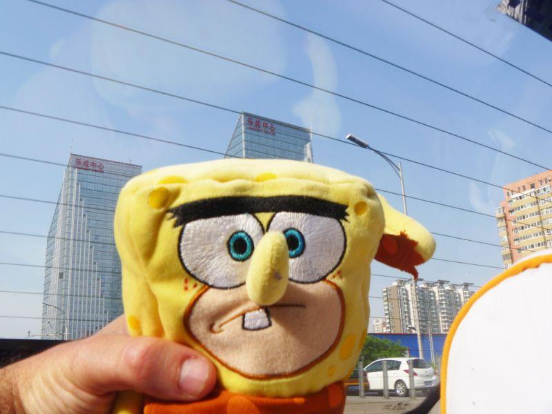 sponge bob in Beijing