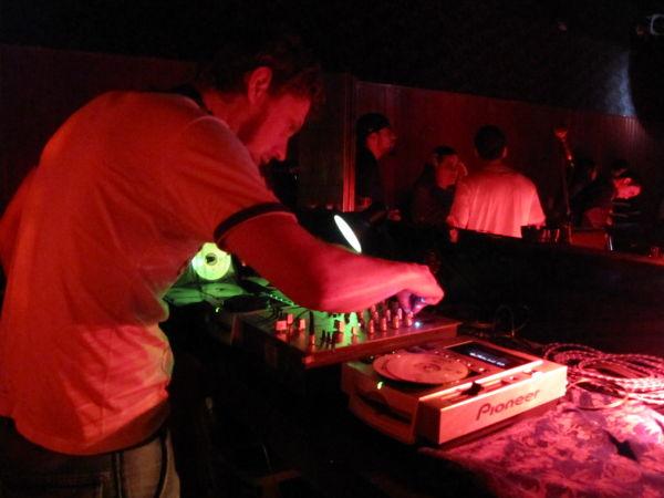 DJ David Rock, no Berlin