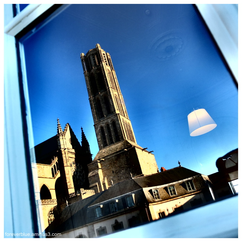 ... CATHEDRAL IN A REFLECTION...