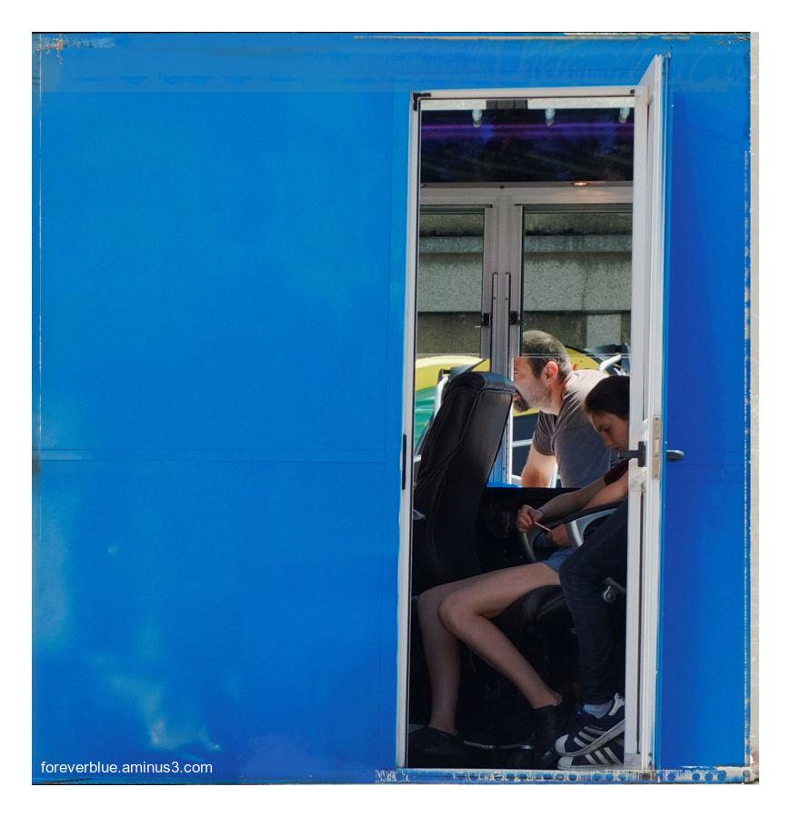 ... THE BLUE BOX ...