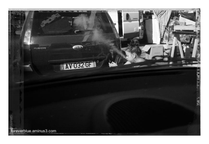 ... THE SMOKER ...