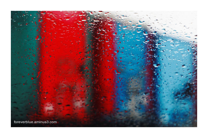 ... COLOURED RAIN ...