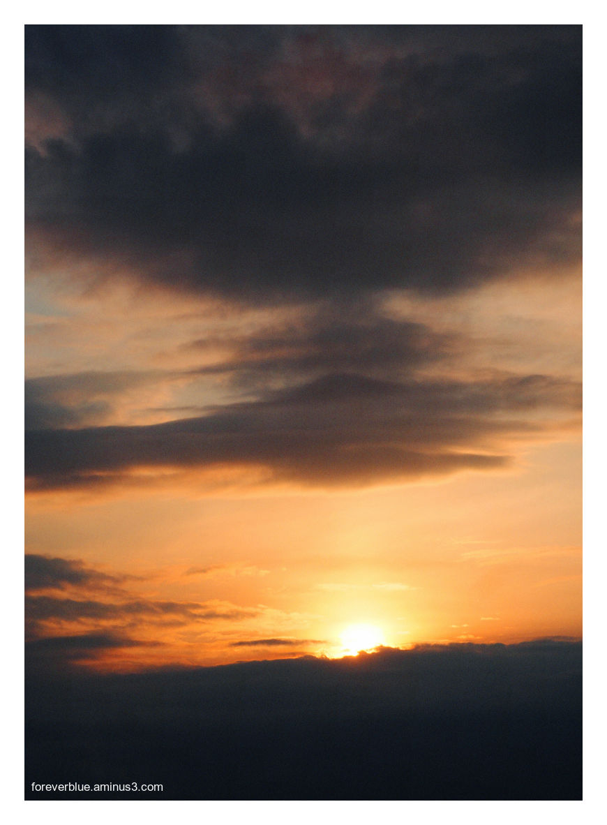 ...ONE MORE SUNSET ...