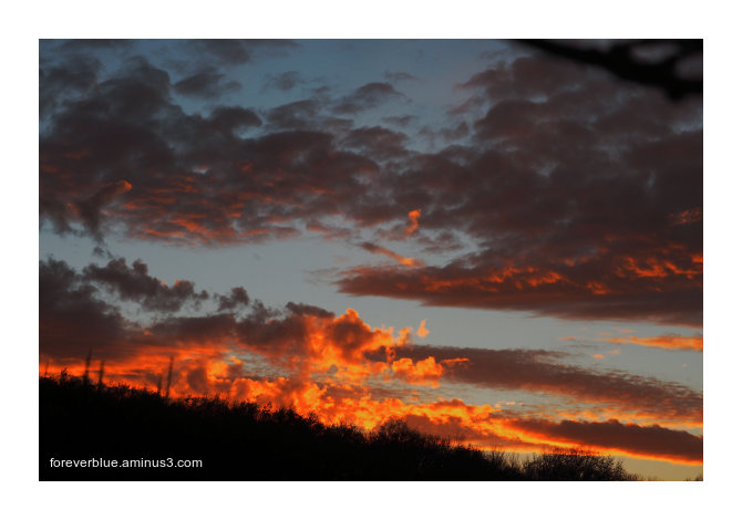 ... ANOTHER BURNING SKY ...