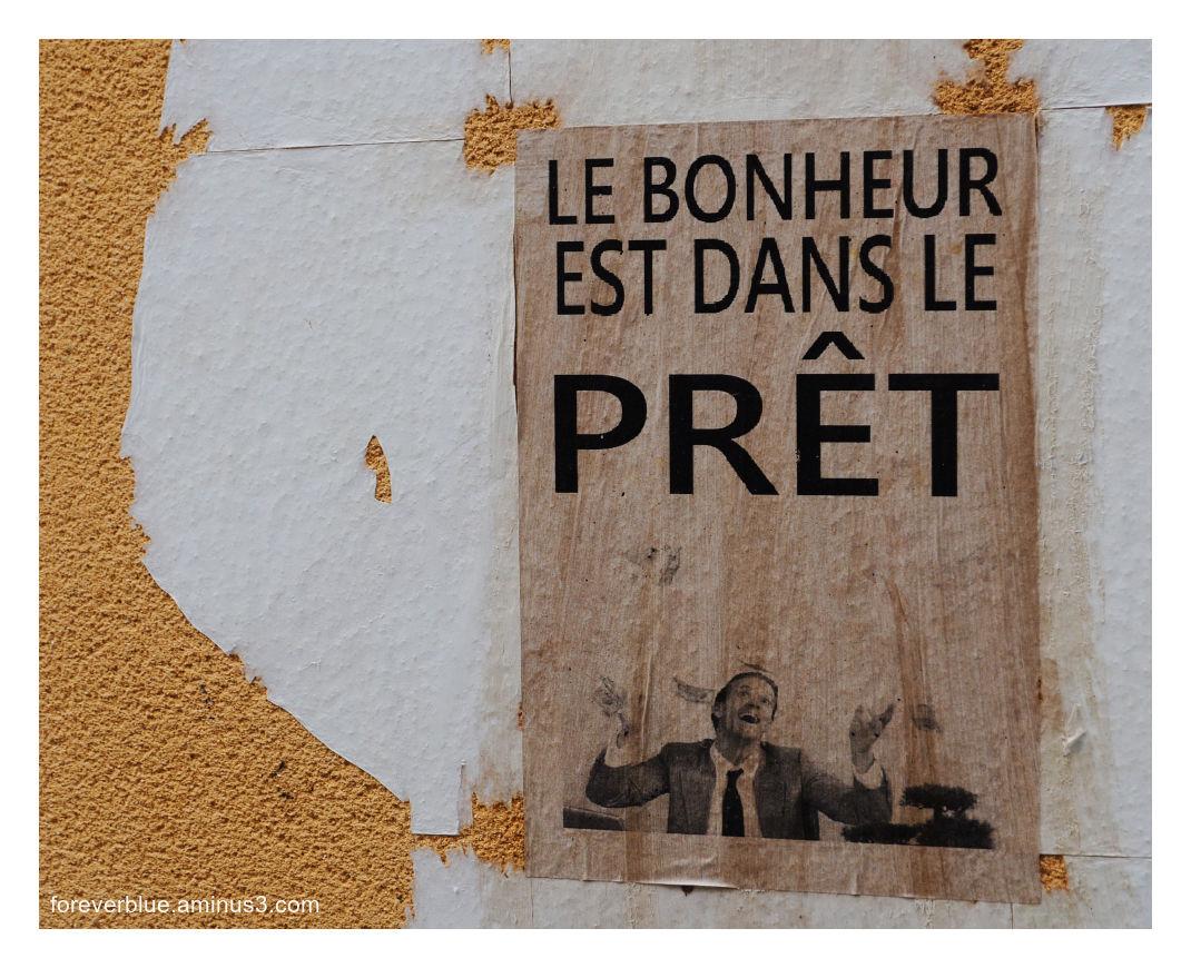 """... LE BONHEUR EST DANS LE ...""""PRET"""" ..."""