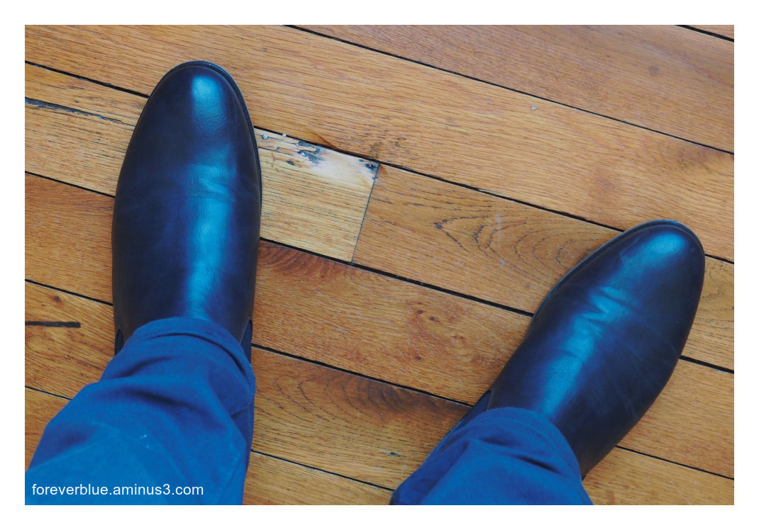 ...(Don't Step on my) BLUE SUEDE SHOES ...