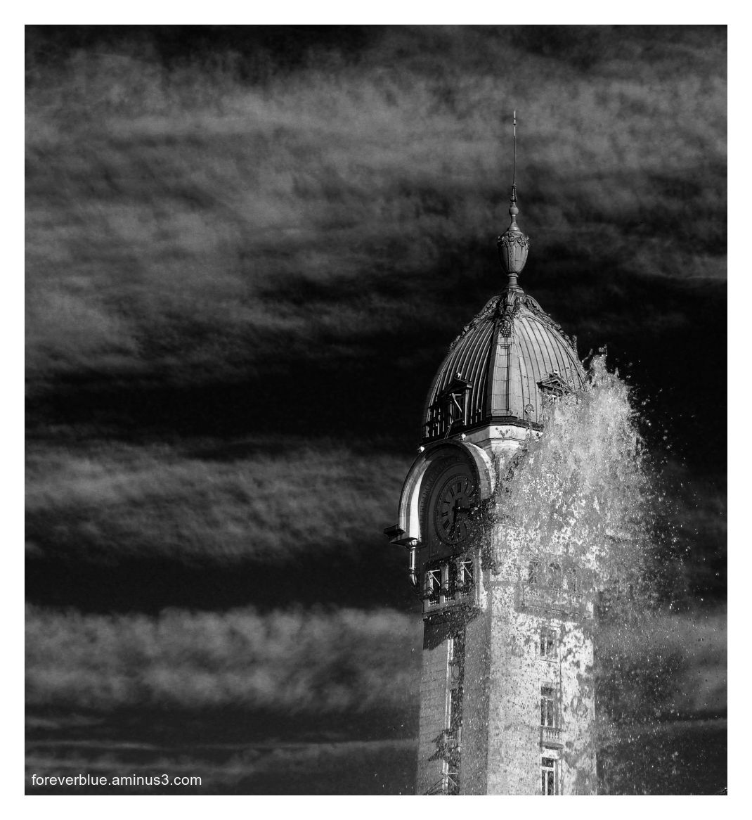 ... STORM ON THE TOWER ....