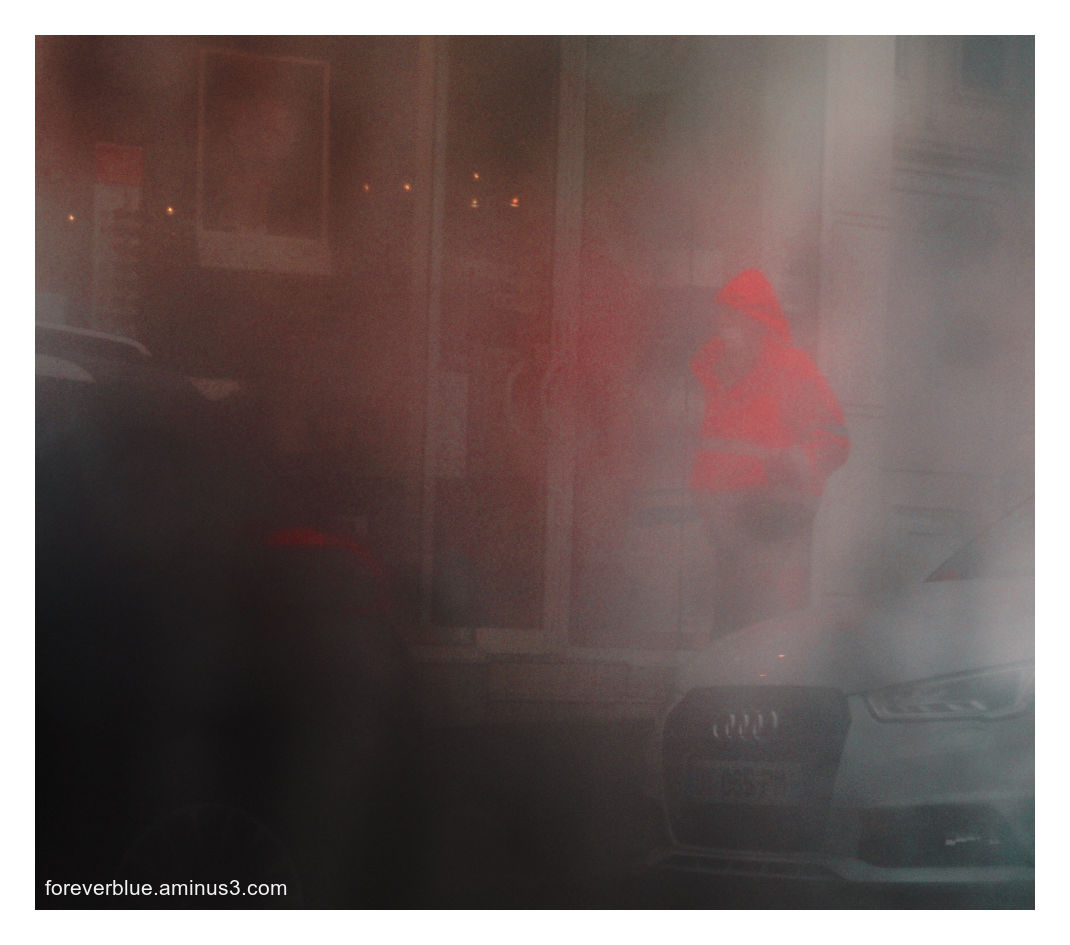 ..THE RED RAINCOAT ...