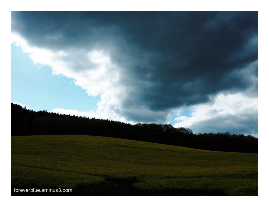 ... HEAVY CLOUDS ...