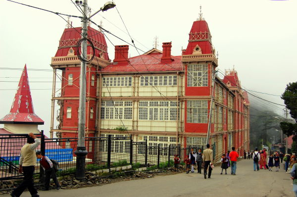 The Old Railway Board Building, Simla