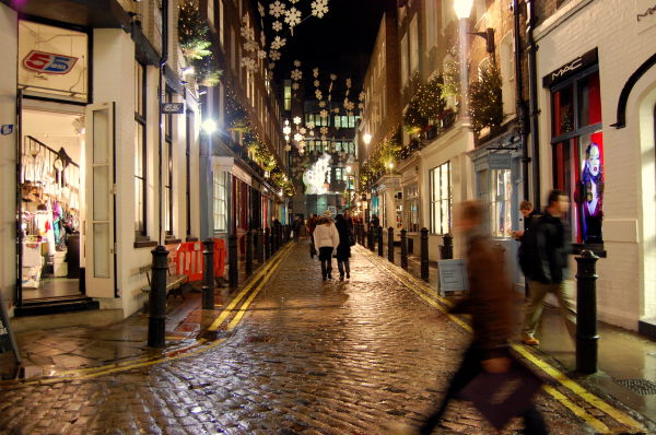 Christmas Shopping on Carnaby Street