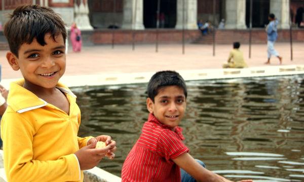 Kids, Jama Masjid, Old Delhi