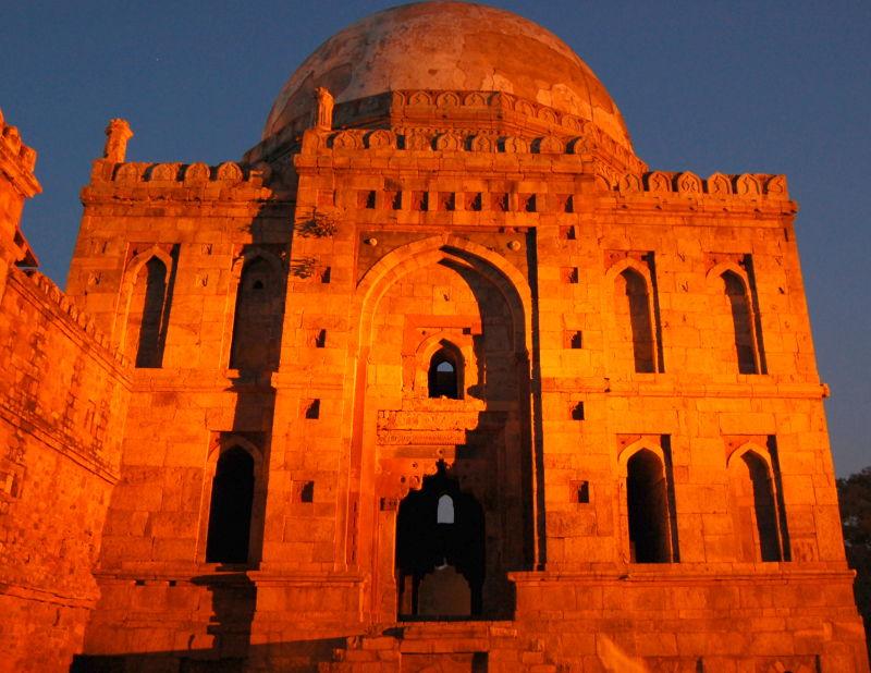 Tomb, Lodhi Gardens, Delhi