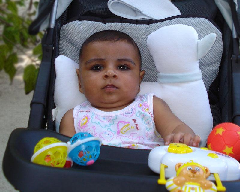 Mohamed on Trolley
