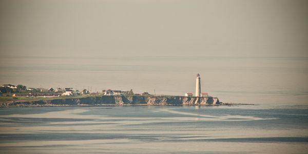 Le cap des Rosiers presque au bout de la Gaspésie