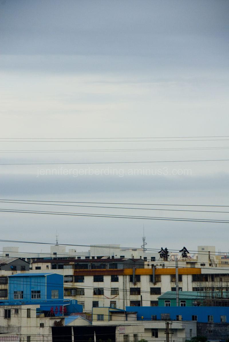Orange and Blue: City Lines