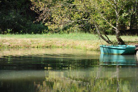 Lac de Guitard pêche à la truite