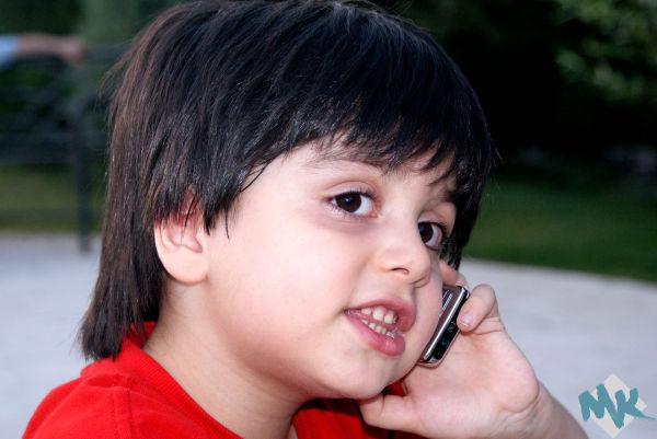 Amir calls grandma