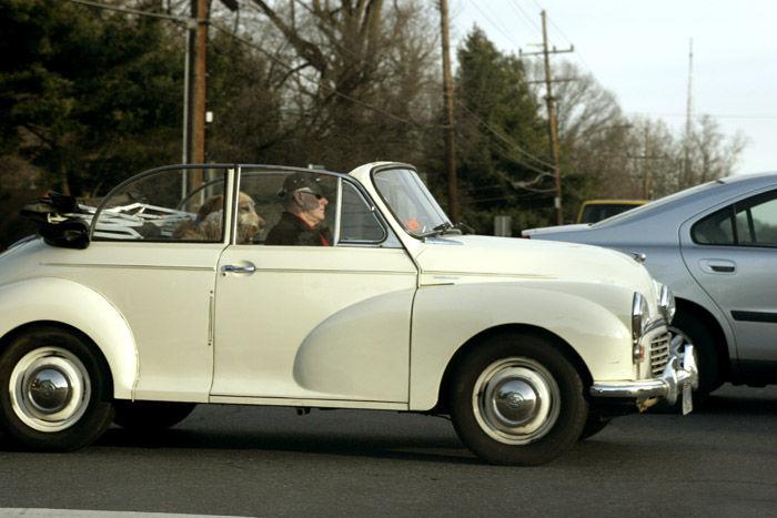 Vintage car in Bethesda, MD USA
