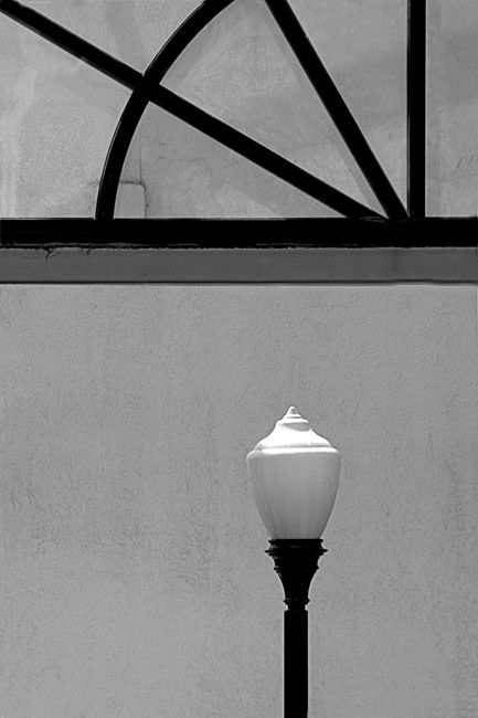 Composition w/ Street lamp