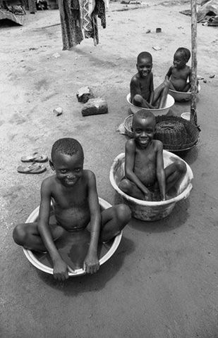 Children  Benin Photojournalism