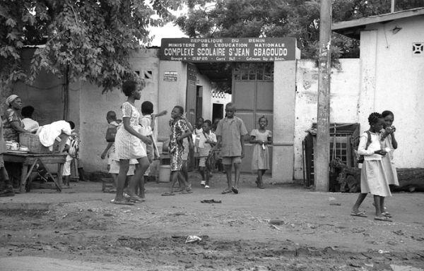 Sortie d'école (Bénin)