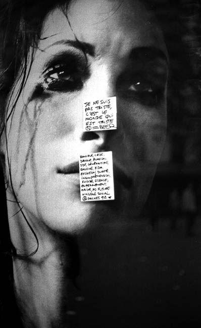 Mo(n)de de tristesse.