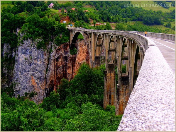 the tara river canyon