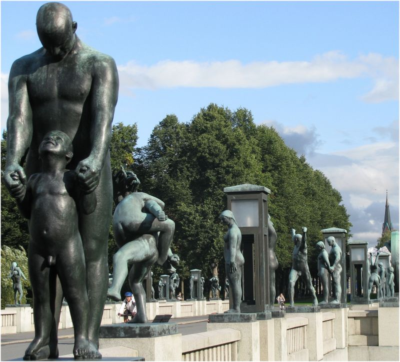 Vigeland Sculpture Bridge