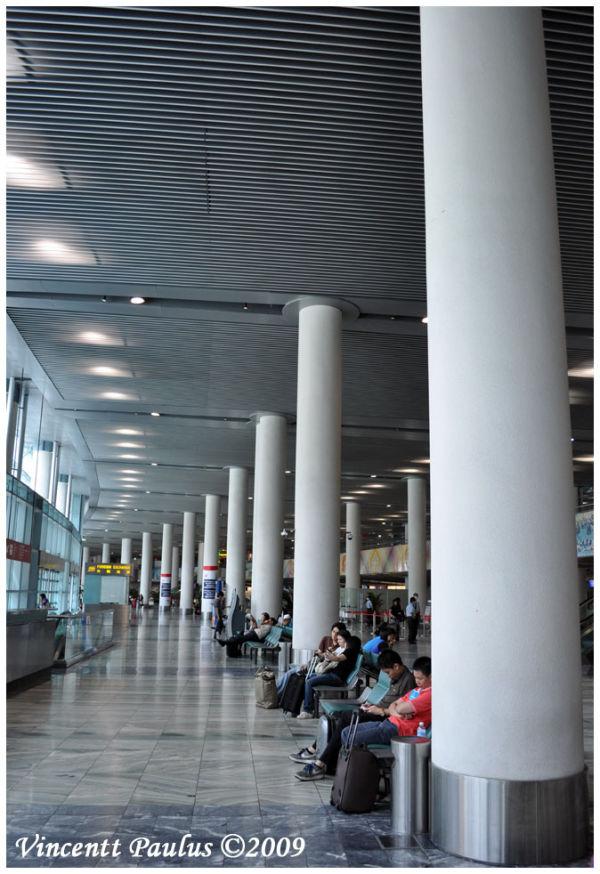 Scene at Macau Airport