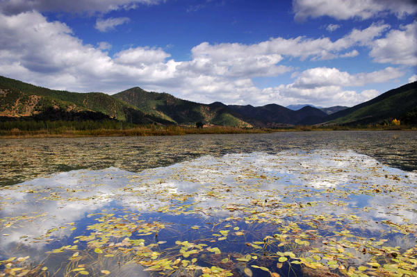 Photography of Lugu lake