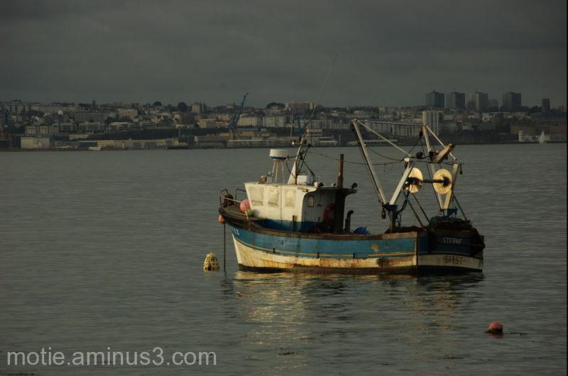 le stern en rade de Brest